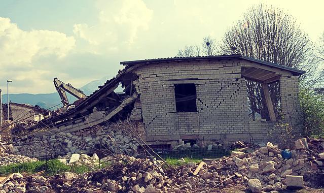 Rêver de tremblement de terre