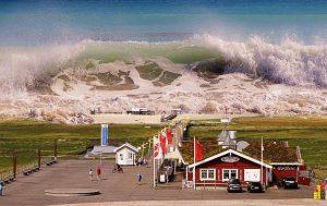 Rêver de tsunami